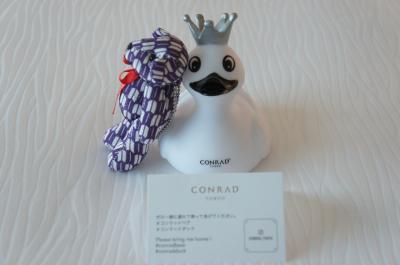 2019年3月 近場でお泊まり コンラッド東京ホテルステイ、翌日は浜離宮お散歩して昼食はティムホーワンまで足を伸ばしてきました