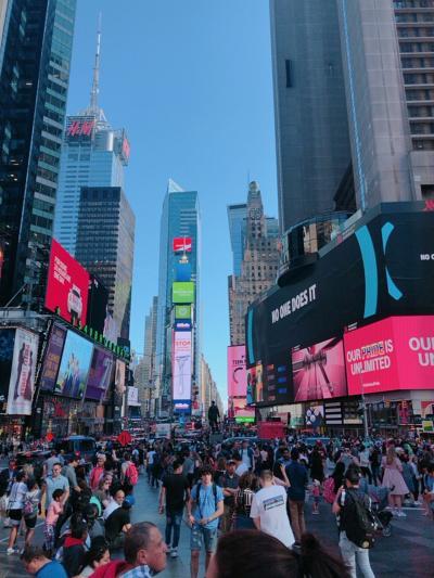 3日間で丸ごとニューヨーク 1日目'MET,ミュージカル,Apollo'