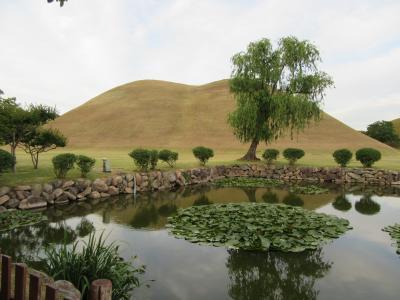 古墳づいたので、慶州に行ってみる