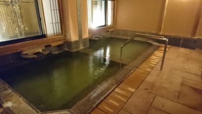 長野県千曲市の上山田温泉 千曲館に泊まりました