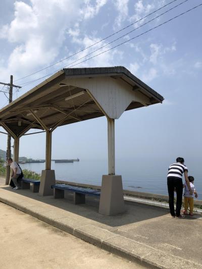 2019年愛媛県 下灘駅そして宇和島の旅