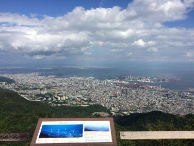 初六甲山はスケールの大きさに驚嘆