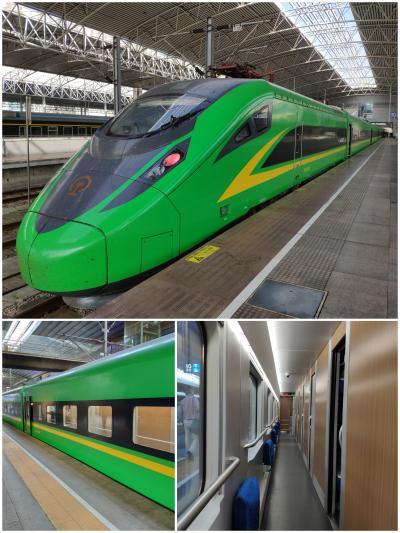 【長春⇒上海】北京トランジットで新型寝台新幹線に乗車する一人旅