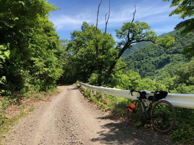 自転車で白神ライン(深浦町~弘前)