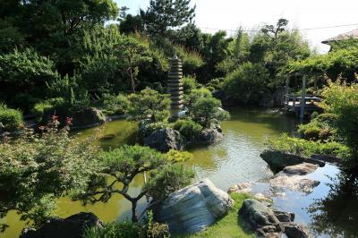庭園を見に旧吉田茂邸(神奈川県大磯町)へ・・・