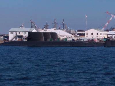 横浜ベイシェラトン2泊3日④横須賀軍港めぐり