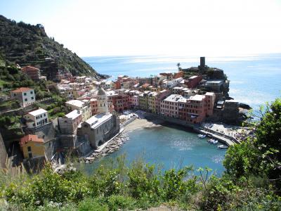 2019年 ウンブリア、トスカーナの小さな街と北イタリア ⑩チンクエテッレ【トレッキング】