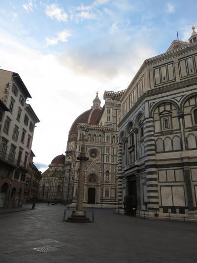 結婚記念44周年2人旅・2日目は前回のハードさとは打って変わって、夫の希望でブラブラとフィレンツェ満喫。