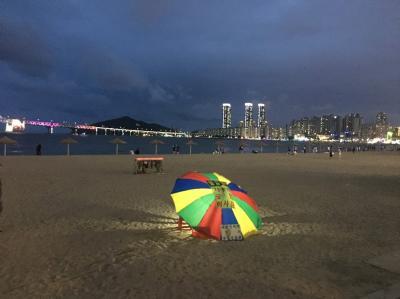 ひとり釜山と、広安里