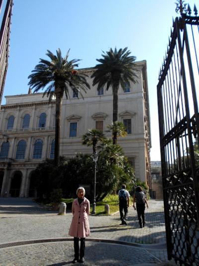 ローマを1週間、ゆっくり観光⑦バルベリーニ宮、旅行計画の注意事項