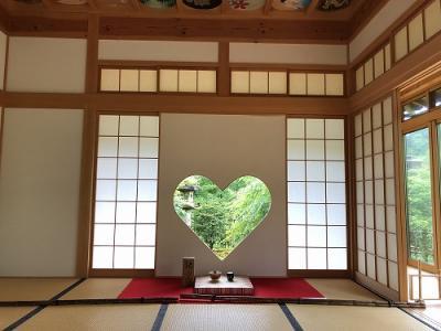 インスタ映え ハートの窓の正寿院へ