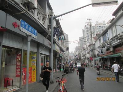 上海の新昌路・再開発中