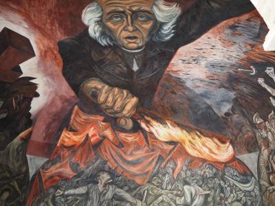 歴史的な街並みと壁画が見どころのグアダラハラ