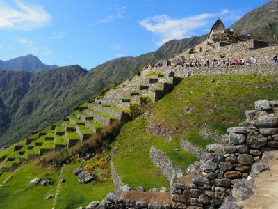 インカ文明の世界に。