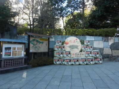 TDCホールと乃木神社