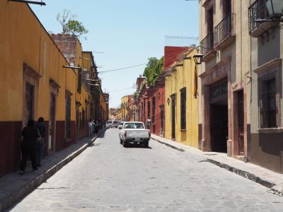 コロニアルな街並みが残るサンミゲル・アジェンデ