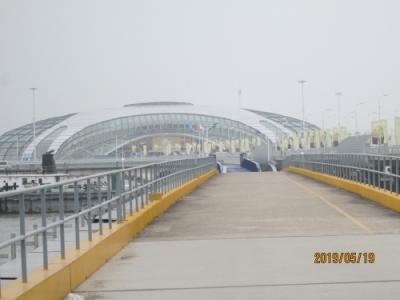 上海の呉淞国際郵輪港・零点広場