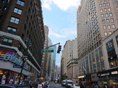 ファーストクラスで行くニューヨーク6日の旅    DAY1