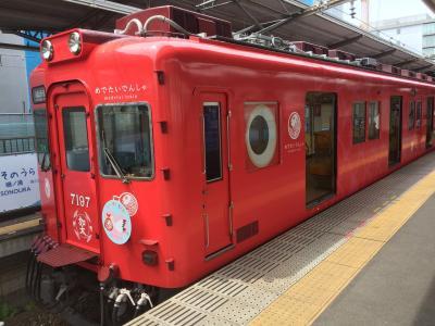 めでたい電車に乗って、加太の海へ