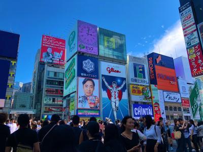 大阪、ひとり食い倒れツアー