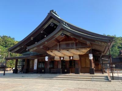 島根&鳥取 1泊2日の旅 ~神話と砂丘と鬼太郎と~(1日目)