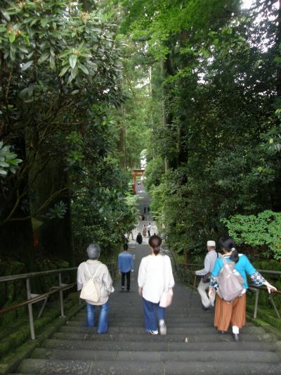 箱根一泊の旅・・・4ー芦ノ湖遊覧・芦ノ湖周辺の観光