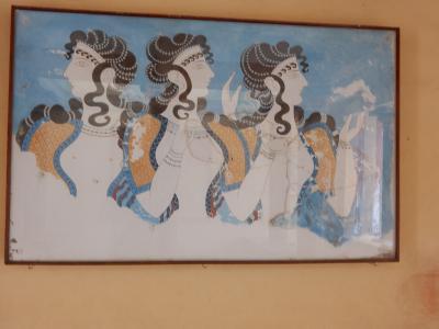 女好きのゼウスは牛に変身し、美女エウロペを拉致しクレタ島にやってきた!