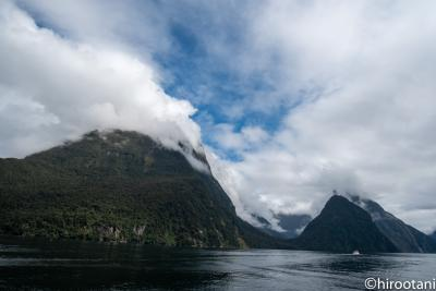 ニュージーランド南島への定年記念旅行 【2】ミルフォード・サウンド