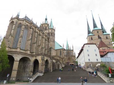 心の安らぎ旅行(2019年 5月 Erfurt エアフルトPart1 Dom und Kirche 大聖堂と教会♪)
