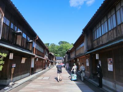 初めての金沢一人旅 (1日目)卯辰山公園の花菖蒲、ひがし茶屋街、主計町茶屋街など