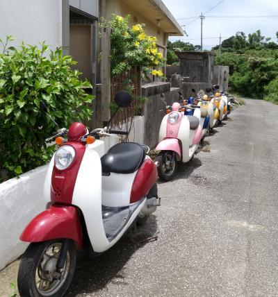 LCC週末宮古島① バイクでぐるり1周~成田野宿から楽園ビーチへ の巻~