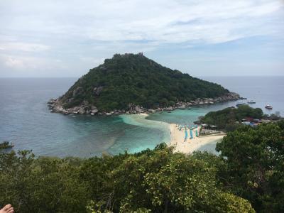 10連休GW★タイのサムイ島からタオ島へのんびりビーチの旅⑤タオ島3日目ナンユアン島の絶景を眺める