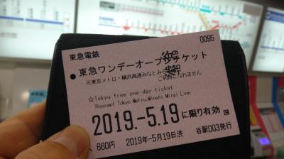 東急ワンデーオープンチケットで、東急電鉄全線を1日で完乗しよう。【その1:田園都市線(1)・世田谷線・こどもの国線】
