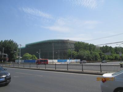 上海の大場鎮・宝山日月光中心・巨大モール工事中