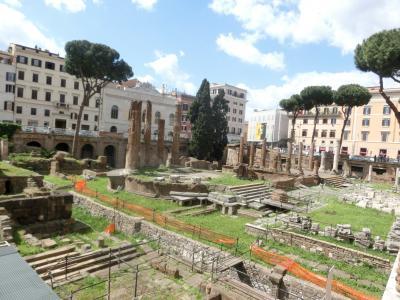 2019GW イタリア13:世界遺産ローマ 「ブルータスお前もか」とポポロ広場のカラヴァッジョ