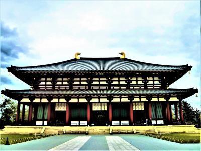 奈良は歴史が生きている;興福寺と猿沢池/東向商店街(2回目/3日)
