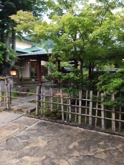 週末の昼神温泉(2) 石苔亭 いしだ