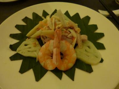 ベトナム ハノイ 蓮の料理