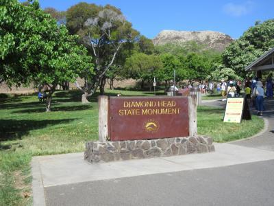 2019年ハワイ…また行って来ました。2日目ダイヤモンドヘッドへ登頂
