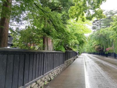 新緑の角館武家屋敷と遠刈田温泉