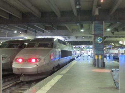 TGVでレンヌからパリへ