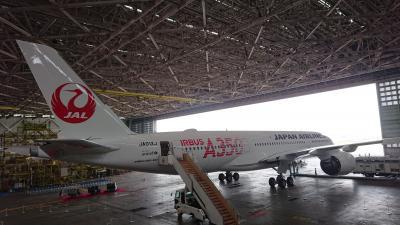 JAL A350 機内公開