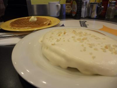 2012夏のハワイ#4カイルアのパンケーキ屋へ