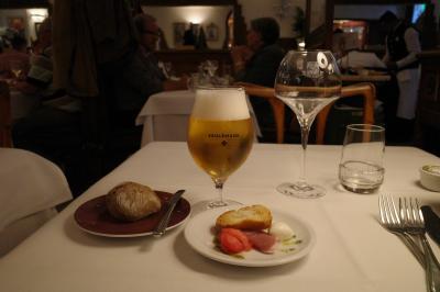 ベルギー旅行 2-4 レストランのディナーで腹一杯!
