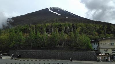 1泊2日ツアー(5)-富士山五合目へー