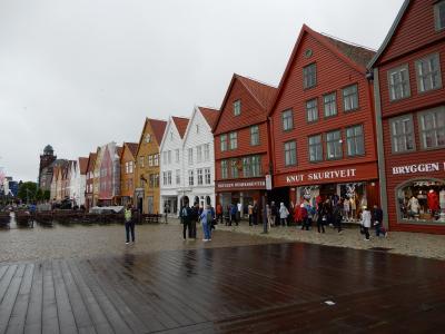 ストックホルムからノルウェー・フィヨルド&オスロ9日間~久しぶりの夫婦二人旅~⑦ベルゲン街歩き、そしてウルヴィクへ。
