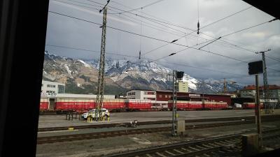 2019年3月インスブルック、ウィーンの旅(12)  列車でウィーンに向かいホテルにチェックイン