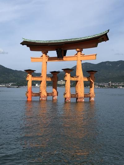 厳島神社から姫路城へ