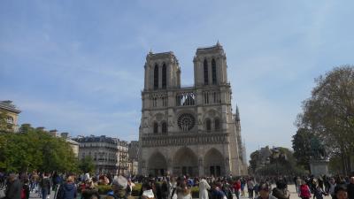 パリ ノートルダム大聖堂 サントシャペル パリ市庁舎