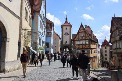 ドイツ旅行記2019 Part11: (4/28) :ローテンブルクの城壁巡り